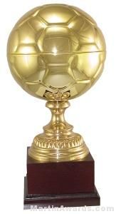 Gold Soccer Trophy Cup