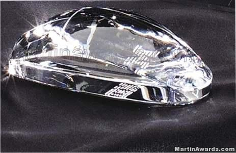 """Crystal Glass Awards - 2 1/4"""" x 4 1/2"""" Genuine Prism Optical Crystal Mouse (not an actual computer m"""