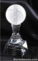 Tennisball Crystal Glass