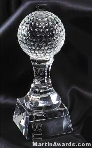 Golfball Crystal Glass