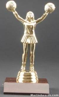 Cheerleader Trophy