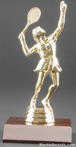 Female Tennis Trophy