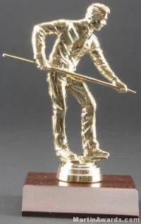 Male Billiards/Pool Trophy