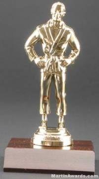 Male Judo Trophy