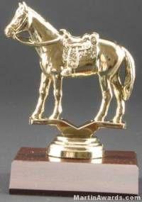 Western Horse Trophy