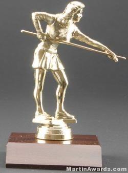 Female Billiards Trophy