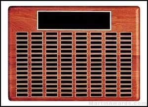 Plaque - Perpetual Plaques with Black Brass Plates