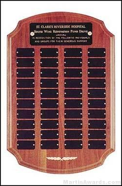 Plaque - Perpetual Series Plaques with 40 Plates