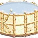 9/16″ Drum Lapel Pin 1