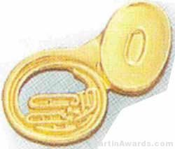 "3/4"" Sousaphone Lapel Pin"