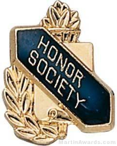 "3/8"" Honor Society School Award Pins"