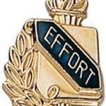 3/8″ Effort School Award Pins 1