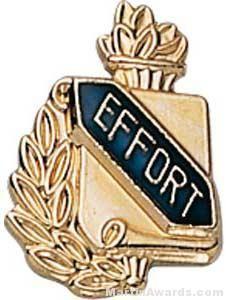 """3/8"""" Effort School Award Pins"""