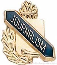 "3/8"" Journalism School Award Pins"