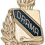 3/8″ Drama School Award Pins 1