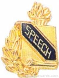"3/8"" Speech Academic Award Pins"