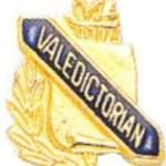 3/8″ Valedictorian School Award Pins 1