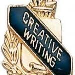 3/8″ Creative Writing School Award Pins 1