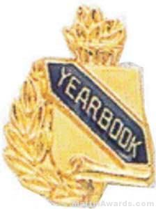 """3/8"""" Yearbook Scholastic Award Pins"""