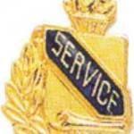 3/8″ Service School Award Pins 1