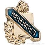 3/8″ Mathematics Award Pins 1