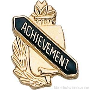 "3/8"" Achievement Scholastic Award Pins"