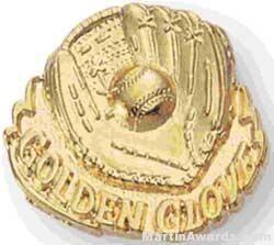 Ball and Glove Custom Lapel Pins