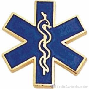 Paramedic Enamel Lapel Pins