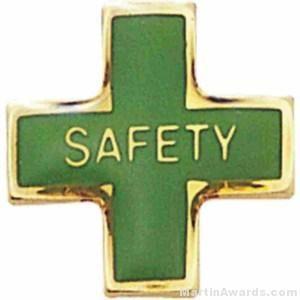 Safety Enamel Lapel Pins