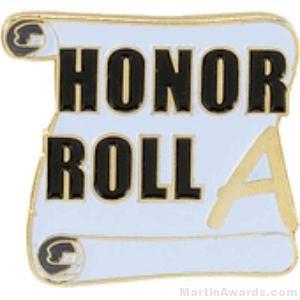 A Honor Roll Award Lapel Pin