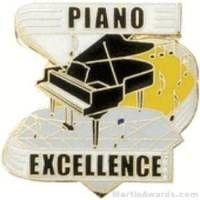 Piano Excellence Award Lapel Pin