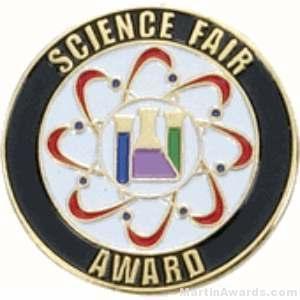 Science Fair Award Lapel Pin