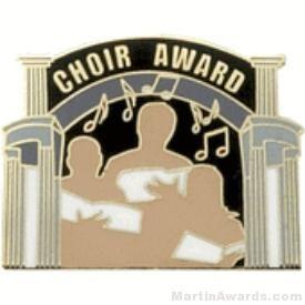 Choir Award Lapel Pin