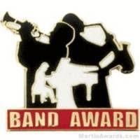 Band Award Lapel Pin