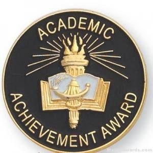 Academic Achievement Award Lapel Pin