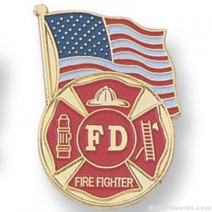 Firefighter Lapel Pin