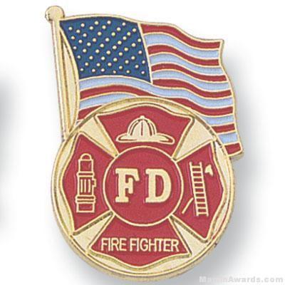Firefighter Lapel Pin