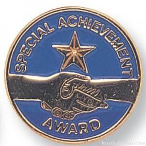 Special Achievement Lapel Pin