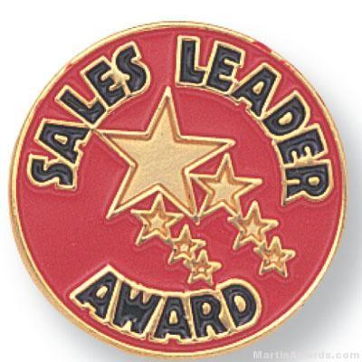 Sales Leader Award Lapel Pin