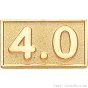 Rectangle Shaped 4.0 Average Pin