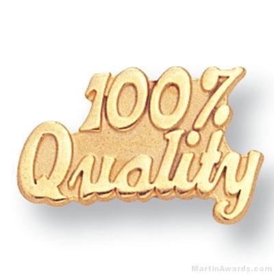 100% Quality Lapel Pin