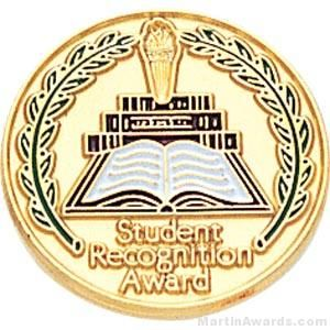 Student Recognition Award Enamel Pin