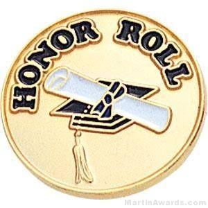 Honor Roll Enamel Lapel Pins
