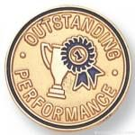 3/4″ Outstanding Performance Lapel Pin 1