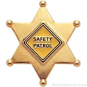 Safety Patrol Custom Lapel Pins