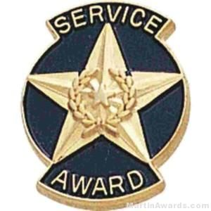Service Award Enameled Lapel Pins