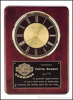 Washington Cherry Clock Plaque