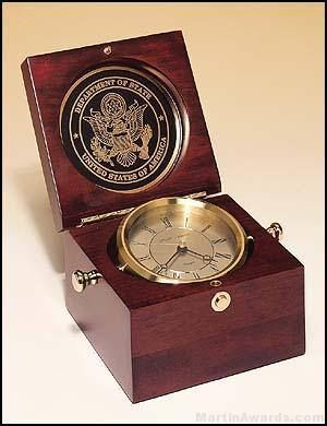 Captain's Navigation Sitting Clock