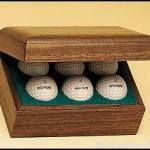 Hinged Golf Ball Boxes 1