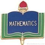 3/4″ Mathematics School Award Pins 1